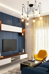Wohnzimmer Industrial