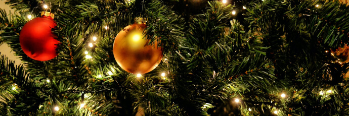 Weihnachtsbeleuchtung Baum