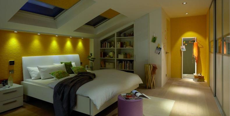 Einbaustrahler Schlafzimmer