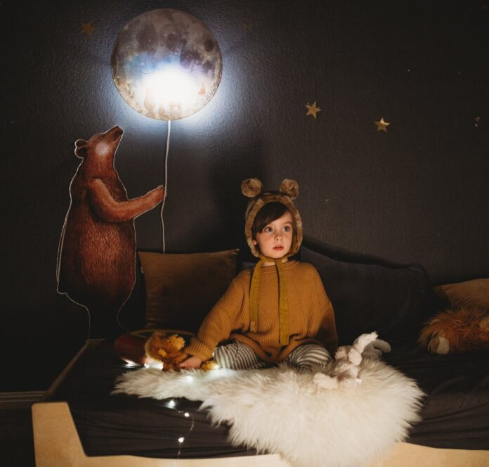 Kinderzimmerbeleuchtung Wandlampe