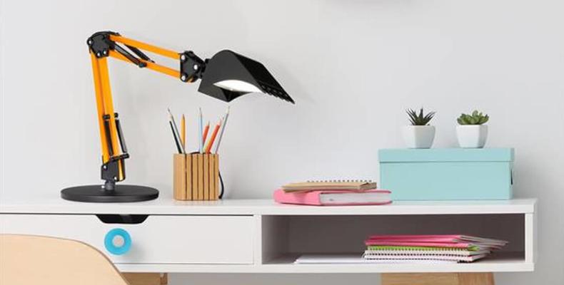 Schreibtischlampe Baggerleuchte