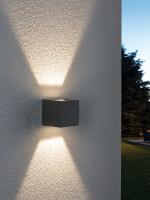 Terrassenbeleuchtung Außenwand