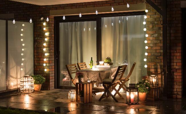 Terrassenbeleuchtung
