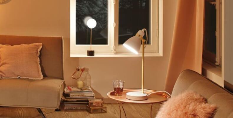Marmor-Lampe