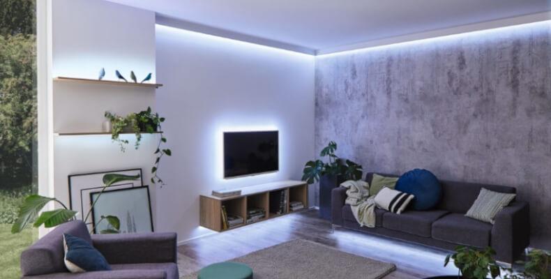 LED-Stripes als Schrankbeleuchtung